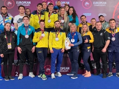 Українці посіли третє місце на чемпіонаті Європи з грепплінгу