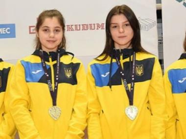 Українські шаблістки – бронзові призерки чемпіонату Європи серед кадетів