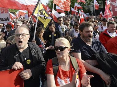 Тисячі польських націоналістів висловили протест США