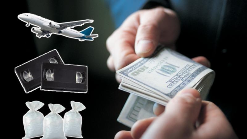Гній,шорти,авіаквитки : список найдивніших та найбезглуздіших хабарів у світі