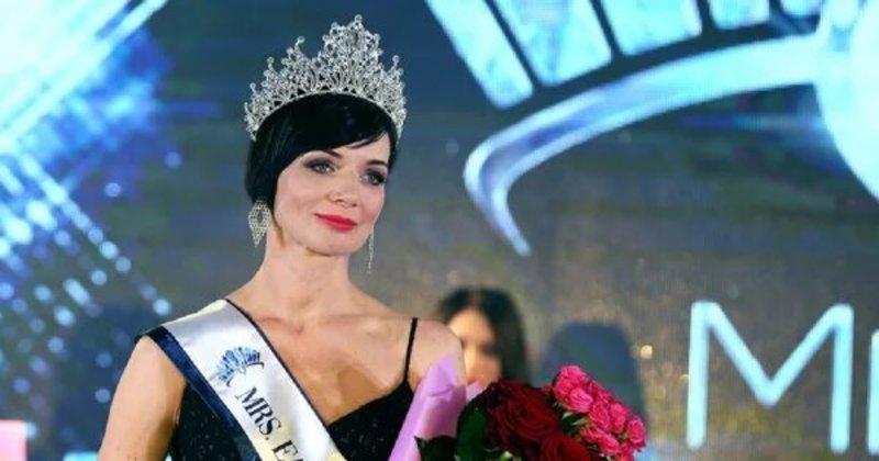 44-річна українка стала переможницею конкурсу краси «Місіс Східна Європа»