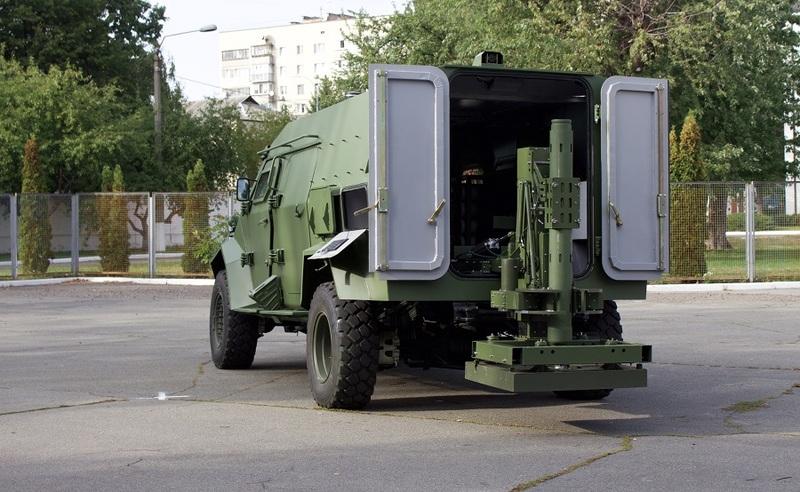 В Україні створили новий автоматизований мінометний комплекс для ЗСУ