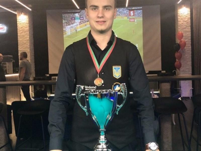Українець став тріумфатором міжнародного турніру з більярду в Білорусі