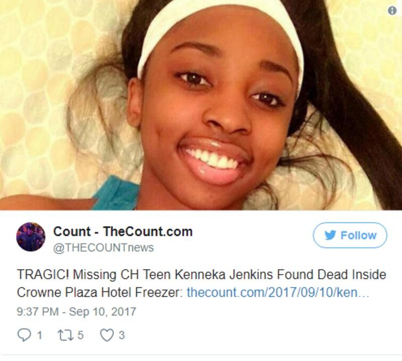 У морозилці готелю біля Чикаго знайшли тіло молодої дівчини