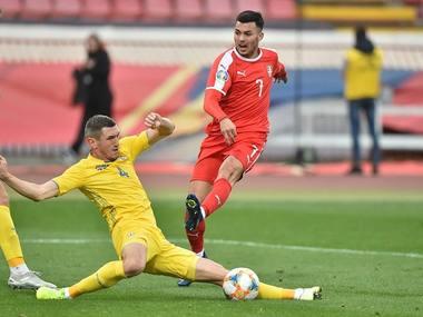 Збірна України вирвала нічию у сербів та без поразок пройшла відбір на Євро-2020