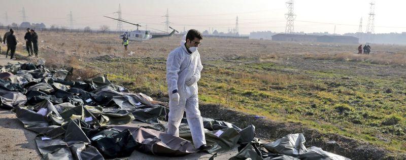 Іран оприлюднив звіт розслідування катастрофи літака МАУ