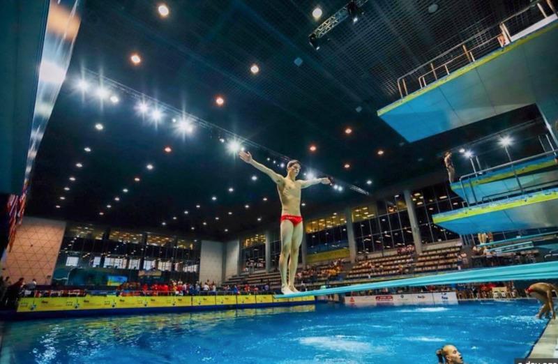 Київ прийматиме чемпіонат Європи-2019 зі стрибків у воду