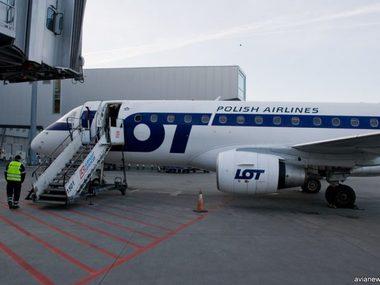 Авіакомпанія LOT відтермінувала міжнародні перельоти