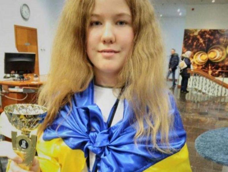 13-річна українка без поразок стала чемпіонкою Європи з бліцу