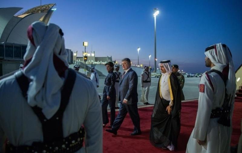 Qatar, Ukraine discuss ways of boosting relations