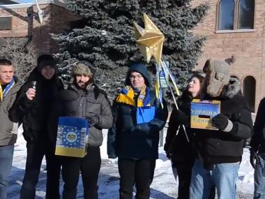"""""""Різдвяна коляда для українського бійця """" від Chicago Automaidan"""