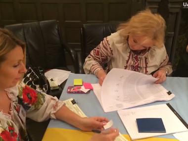 Як українці голосували в Чикаго