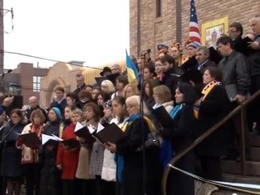 Віче з вшанування першої річниці Євромайдану